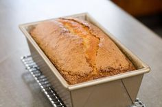 Recipe for the perfect pound cake