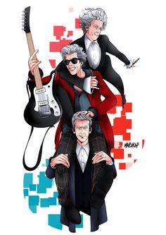 There's no series 10 without series 8 and 9. The finished artwork.