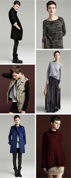 zara model, collage via butter-brass.blogspot.com