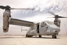 Detailed image of the Bell Boeing V-22 Osprey Tiltrotor VTOL Transport