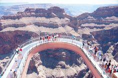 Grand Canyon Sky walk, Arizona - United States ~ @My Travel Manual