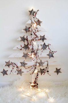 DIY Árbol de Navidad de madera Video