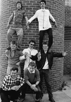 Cool photo of Madness. It's singer Graham McPherson aka Suggs' Birthday today...