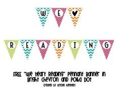 {FREE} pennant banner to brighten up your classroom!