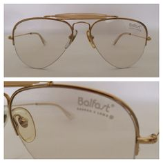 c9ff51f9287e Vintage Balfast by Baush Lomb Made in West Germany pre RayBan Ultra Rare.