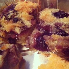 Miss Mochi's Adventures: Blueberry Butter Mochi