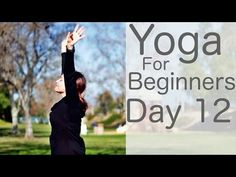 Yoga For Beginners 30 Day Challenge Day 12 with Lesley Fightmaster - Fitness Quick Weight Loss Tips, Weight Loss Help, Lose Weight At Home, Lose Weight Naturally, Yoga For Weight Loss, Reduce Weight, Weight Loss Program, How To Lose Weight Fast, Videos Yoga