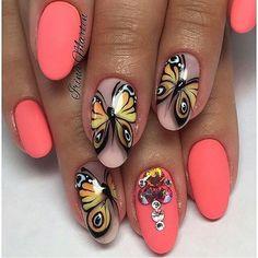 "60 Likes, 2 Comments - Nails Art & Уроки дизайна (@nails_art_master_) on Instagram: ""Мастер ➡️ @nails_irinamarten  г.Москва _________________________  #ногти #наращиваниеногтей…"""