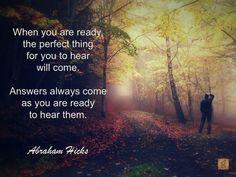 #AbrahamHicks #You #Ready