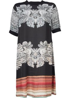 Gustav Kjole 24507 Printed Dress - multi