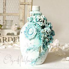 Wild Orchid Crafts: Blue Bottle