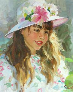 View Portrait of a girl by Vladimir Gusev on artnet. Browse upcoming and past auction lots by Vladimir Gusev. Painting For Kids, Art For Kids, Illustration Art, Illustrations, Russian Art, Fine Art, State Art, Famous Artists, Beautiful Paintings