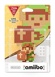 Boxshot: The Legend of Zelda: 8-Bit Link amiibo Figure by Nintendo