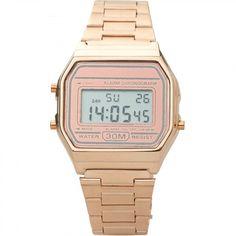 Naast de goud- en zilverkleurige vintage watch, hebben we nu ook nog een rosé versie! Deze horloges gaan 'never out of style' en je kan ze passen overal bij