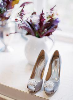 #badgley-mischka  Event Coordination: Amber Events - amberevents.com Photography: Brandon David Photographers - brandon-david.com Flowers: Holly Flora - hollyflora.com/  Read More: http://www.stylemepretty.com/2012/01/18/malibu-wedding-by-amber-events/