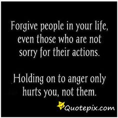 Not because they are worthy but because unforgiveness cannot enter heaven.