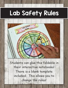 Lab Safety Foldable                                                       …