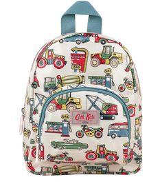Cath Kidston Cream Garage Print Mini Rucksack   Kids Accessories by Cath Kidston   Liberty.co.uk