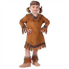 Details about Toddler Native American Girl Costume  sc 1 st  Pinterest & Little Indian Princess Costume - Native American Indian Costumes ...