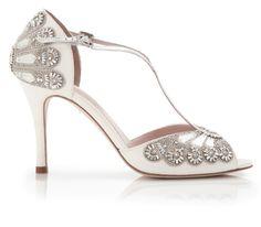 Emmy London: http://www.stylemepretty.com/2016/01/31/beautiful-bridal-wedding-shoes/