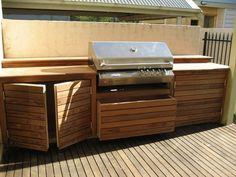 diy outdoor kitchen | visit backyardbliss com au