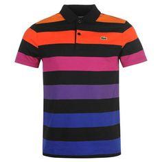 Lacoste   Block Stripe Polo by Lacoste   Men's Polos