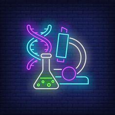 Neon Light Wallpaper, Wallpaper Iphone Neon, Funny Phone Wallpaper, Neon Science, Science Web, Chemistry Drawing, Cheetah Print Wallpaper, Nurse Art, Neon Words