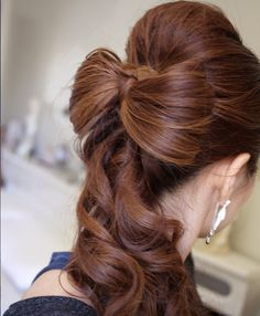 Hair for a wedding?