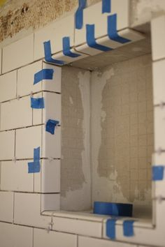 DIY Home Renovation: How To Tile Your Bathroom Shower Apartment Therapy Tutorials | Apartment Therapy