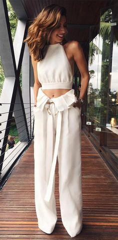 Street style look Camila Coutinho