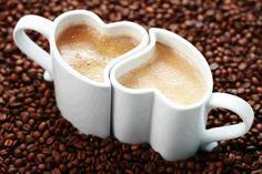 Cuddly heart mugs