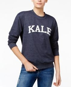 Sub_Urban Riot Kale Graphic Sweatshirt - Blue S
