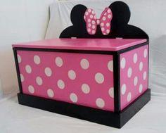 Minnie Decor toy box