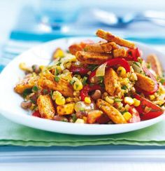 Quorn Chicken style pieces and Rice Stir Fry... Try this low fat sizzling Quorn Chicken style stir-fry with rice recipe, it is a midweek masterpiece...