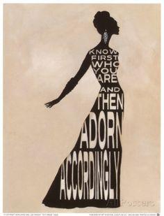 Text Dress Posters tekijänä Lisa Vincent AllPosters.fi-sivustossa