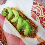 Paleo-Turkey-Tacos.  Made with Paleo wraps.  I want to try these