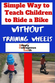 Use this method to teach your child how to ride a bike without training wheels. It does not have to be a painful process. The process is simplified. Gentle Parenting, Parenting Advice, Kids And Parenting, Games For Kids, Activities For Kids, Becoming Mom, Screen Time For Kids, Kids Health, Children Health