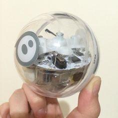 Sphero SPRK EDITION   #sphere #ball #robotics #arduino #sphero #tech #cool #cute #clear #transparent #game #led #accelerometer #sprk #technology #fun by huskihoney
