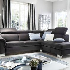 Velmi atraktivní a pohodlná sedací souprava v látkovém i celokoženém provedení. Variabilní, mnoho elementů, konfigurovatelná do různých sestav.