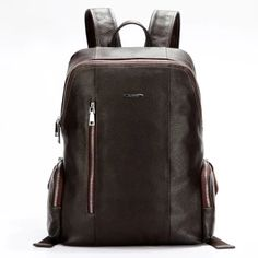 382d5bada586 BOSTANTEN Genuine Leather Backpack - Laptop Compartment