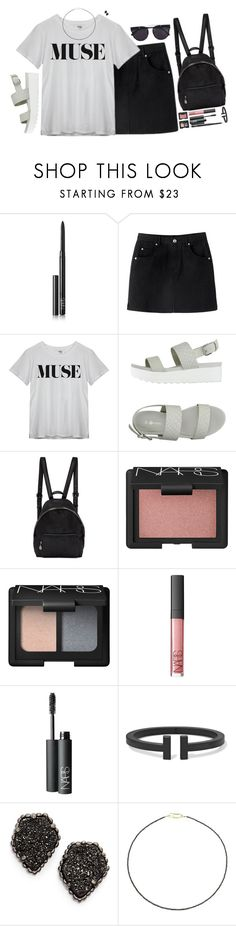 """froward"" by katie-tx ❤ liked on Polyvore featuring NARS Cosmetics, Victoria, STELLA McCARTNEY, Kendra Scott, Uzerai Edits and Vera Wang"