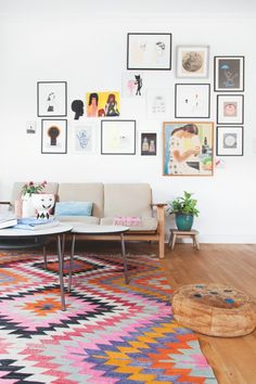 Colorful and a bit exotic. Article, Boligmagasinet.
