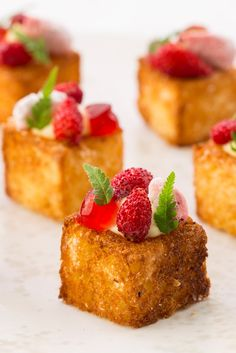 These sweet canapés combine lusciously creamy cheesecake with crisp toasted…