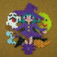 Witch Halloween perler beads by tentenyama