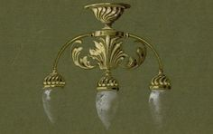 Lighting. Design for yacht pendants ¼ full size no. P.5543 [plate 12], In: William McGeoch & Co Ltd, light fittings : original designs c1900. From HHT Digital Trade Catalogues Collection.
