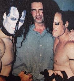 Doyle Wolfgang von Frankenstein (Misfits), Pete Steele from (Type O Negative) & Jerry Only (Misfits)