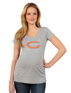 Chicago Bears NFL Maternity T Shirt--since I'm due during football season ;)