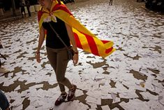 October, Barcelona Spain: Catalonia voted for independence from Spain. As of year's end it hasn't happened Bad Marriage, Blue Streaks, Barcelona Spain, Ny Times, The Locals, Outdoor Decor, Pictures, Biz News, Dilema