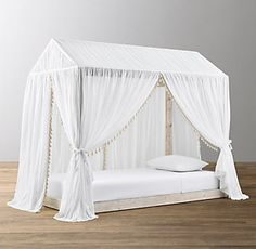 Cole Canvas Tent Bed Collection   RH Baby & Child