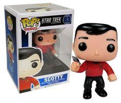 Funko POP Star Trek: Scotty Action Figure http://popvinyl.net #funko #funkopop #popvinyls